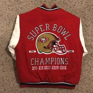 Jackets & Blazers - San Francisco 49ers Super Bowl Reversible Jacket